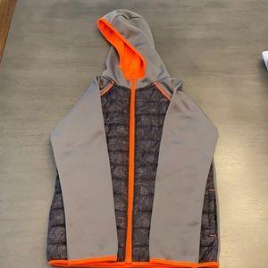 Star Wars XL (7X) Jacket like new Gray & Orange